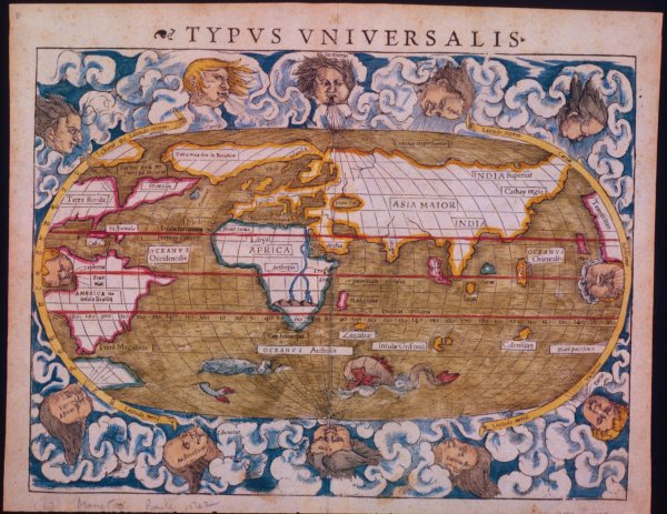 Claudius Ptolemy World Map Imgurl