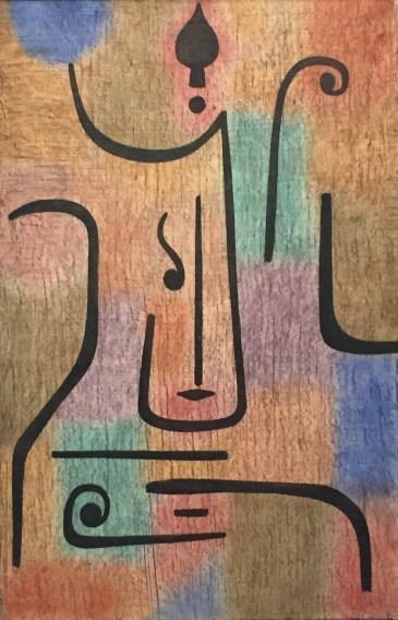 Paul Klee - Erzengel, 1938, 82. Galerie im Lenbachhaus, München © starkandart.com