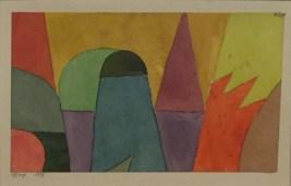 Paul Klee - mit dem mauve Dreieck. 1914, 103. Ständige Sammlung, Franz Marc Museum, Kochel am See © starkandart.com