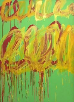 Cy Twombly: Ohne Titel (Camino Real) V, 2010 © starkandart.com