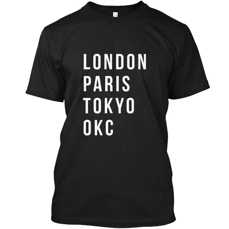 london paris tokyo okc shirts stark and basic