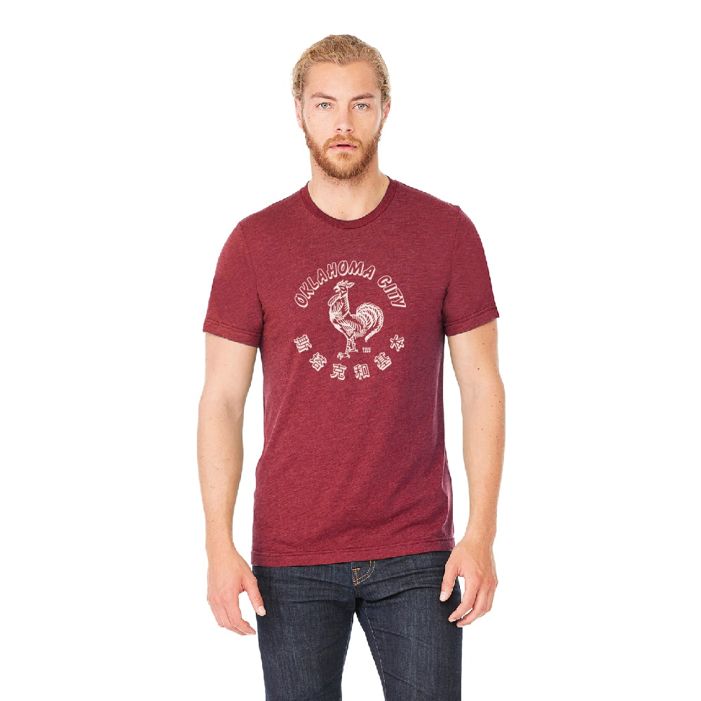 oklahoma city rooster tee 1