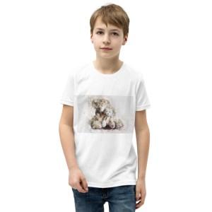 Bear with Kid – Kurzärmeliges T-Shirt für Kinder