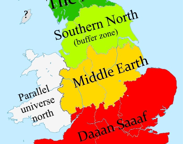 Where is the North of England? - Starkey Comics