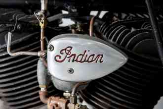 Steve McQueen 1936 Indian Chief