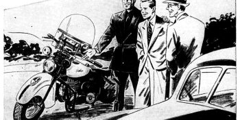 Pull Over - A short Indian Motorcycle Story