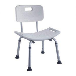 chaise antiderapante pour salle de bain