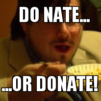 Do Nate or Donate