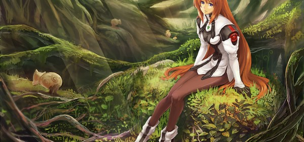 Xenogears Artwork 01 - Elly - FEATURED