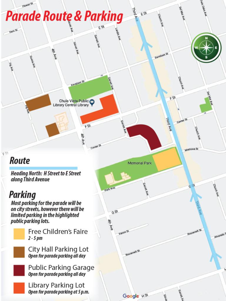 Rose Bowl Parade Route Map 2019 : parade, route, Parade, Route, World, Atlas