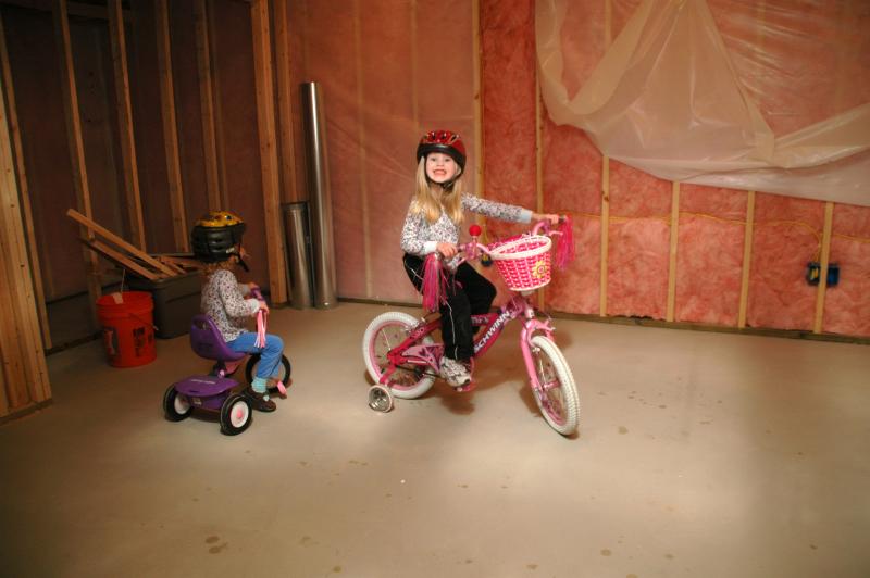 Biking in the Basement