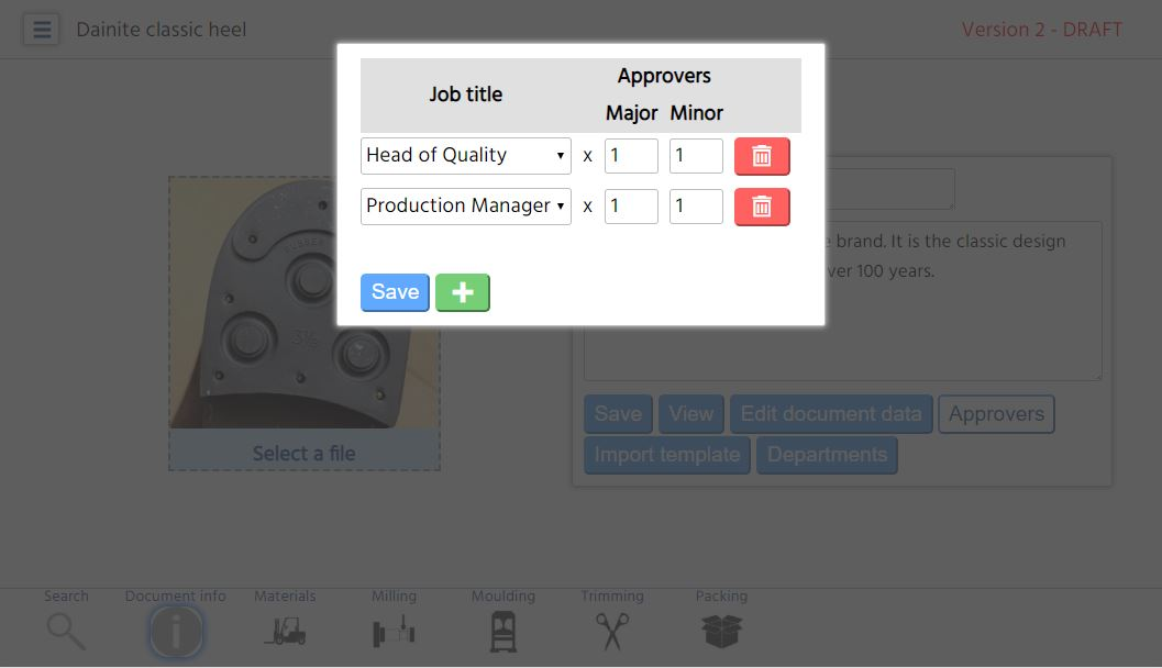 Build your approval workflow