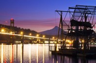 Fish Wheel Sunset-2