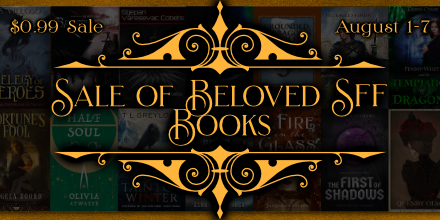 Beloved indie SFF sale