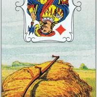 Lenormandkarten 10 von 36~ Die Sense
