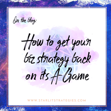 Did you fall off your plan? Here's how to get your biz strategy back to its A-Game