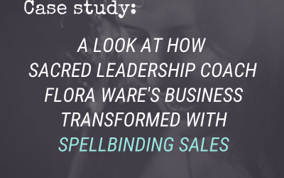 #CaseStudy: How Spellbinding Sales Helped Flora Ware Reach Her First Five Figure Launch