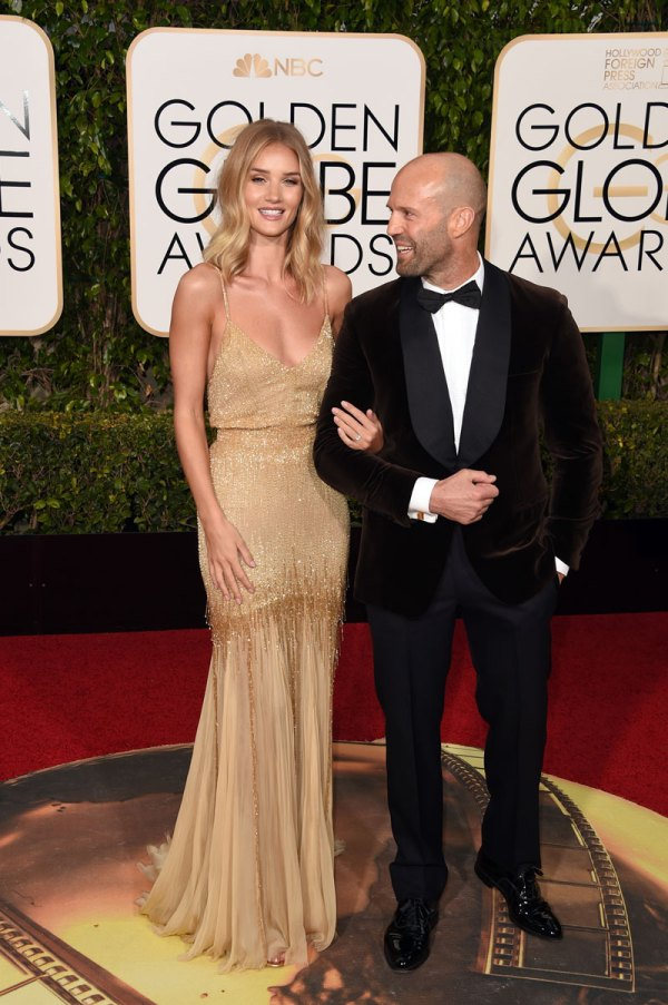 Rosie Huntington Whiteley Engaged To Jason Statham | Star ...