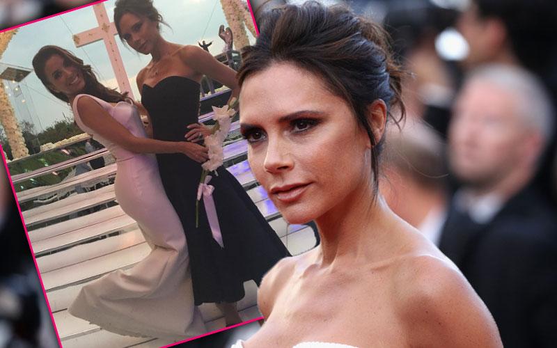 Oops! Victoria Beckham Reveals Eva Longoria's Top Secret