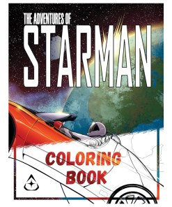 The Adventures of Starman Coloring Book