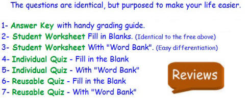 Free Differentiated Worksheet For The Bill Nye