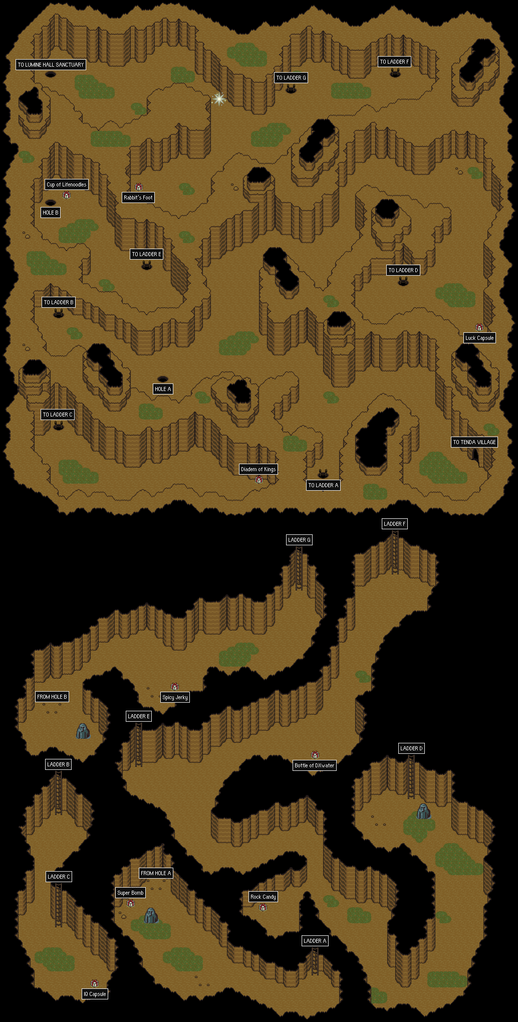 STARMENNET  MOTHER 2  EarthBound Maps