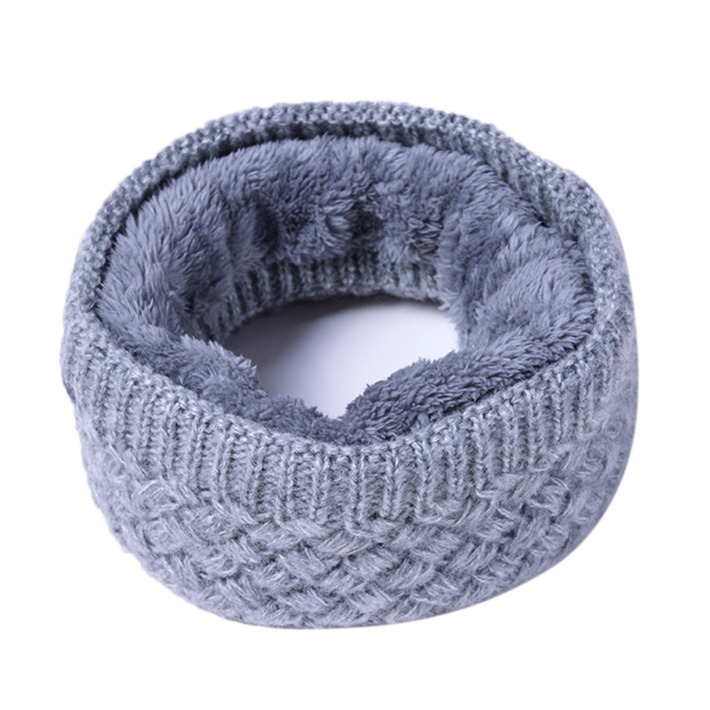 Details About Unisex Winter Scarf Thickened Wool Knitting Collar Scarves  Warm Neck Scarf 7449713fe0f0