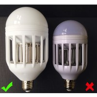 Anti-Mosquito Flying Insects Moths Killer LED Insect ...