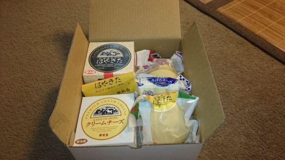 北海道安平町のチーズセット