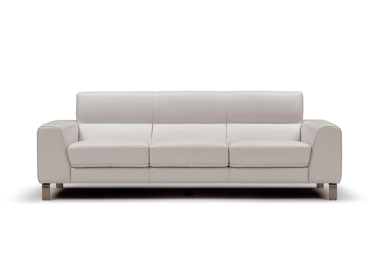 nicoletti lipari grey italian leather sofa chaise dining table seating contemporary galleries div pascal56