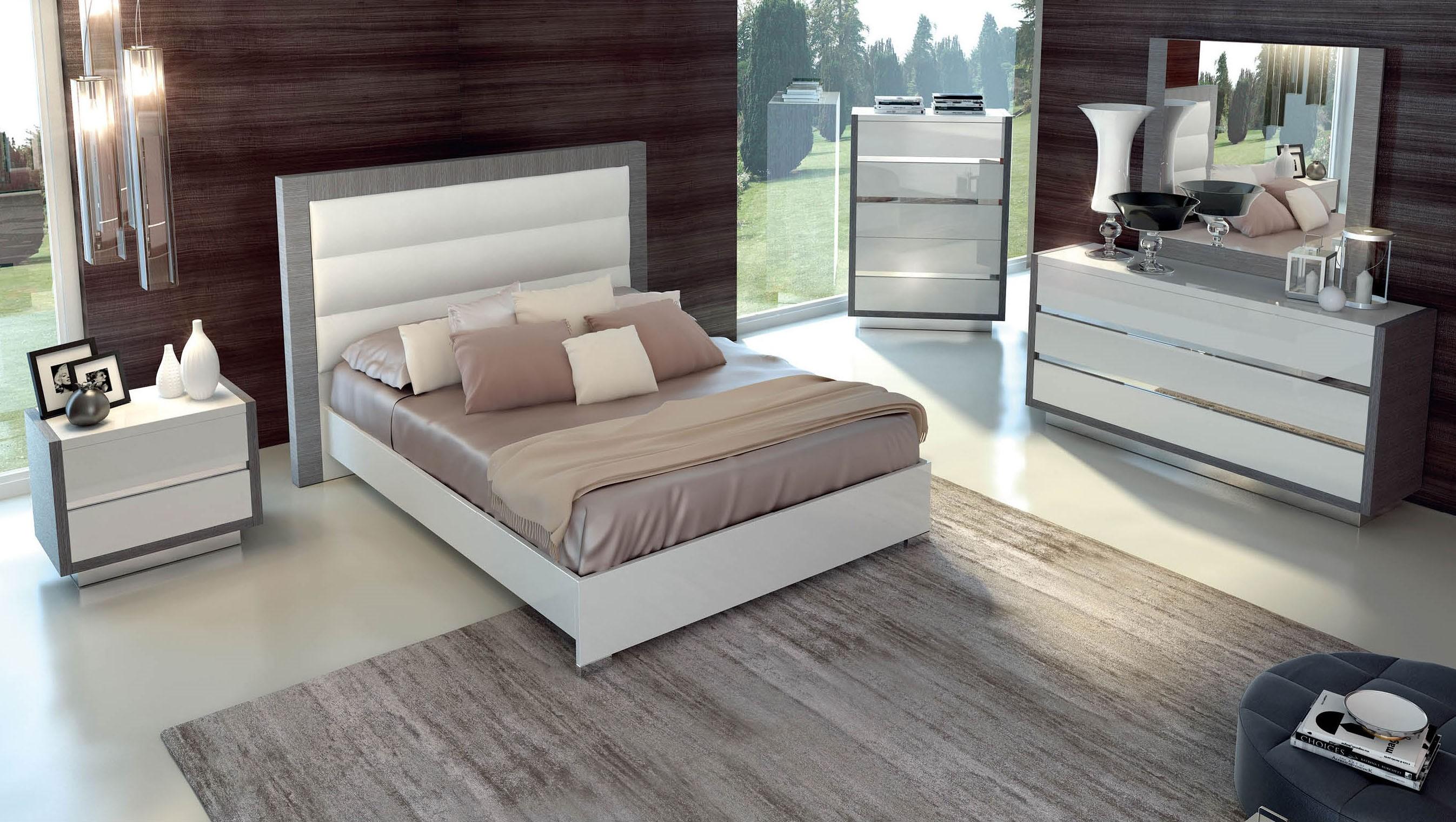 Magno Modern Italian Bedroom set  N  Modern  Bedroom Star Modern Furniture
