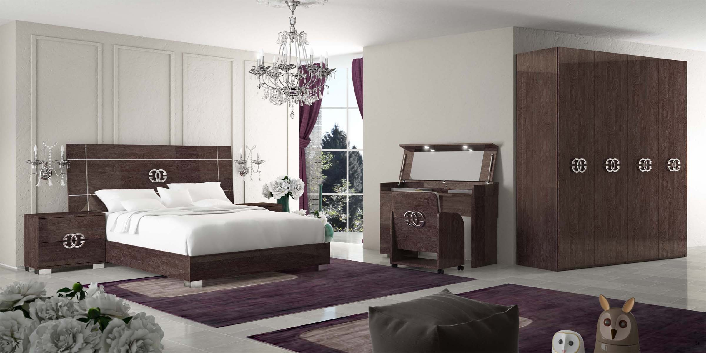 Pride Classic Modern Italian Bedroom set  N