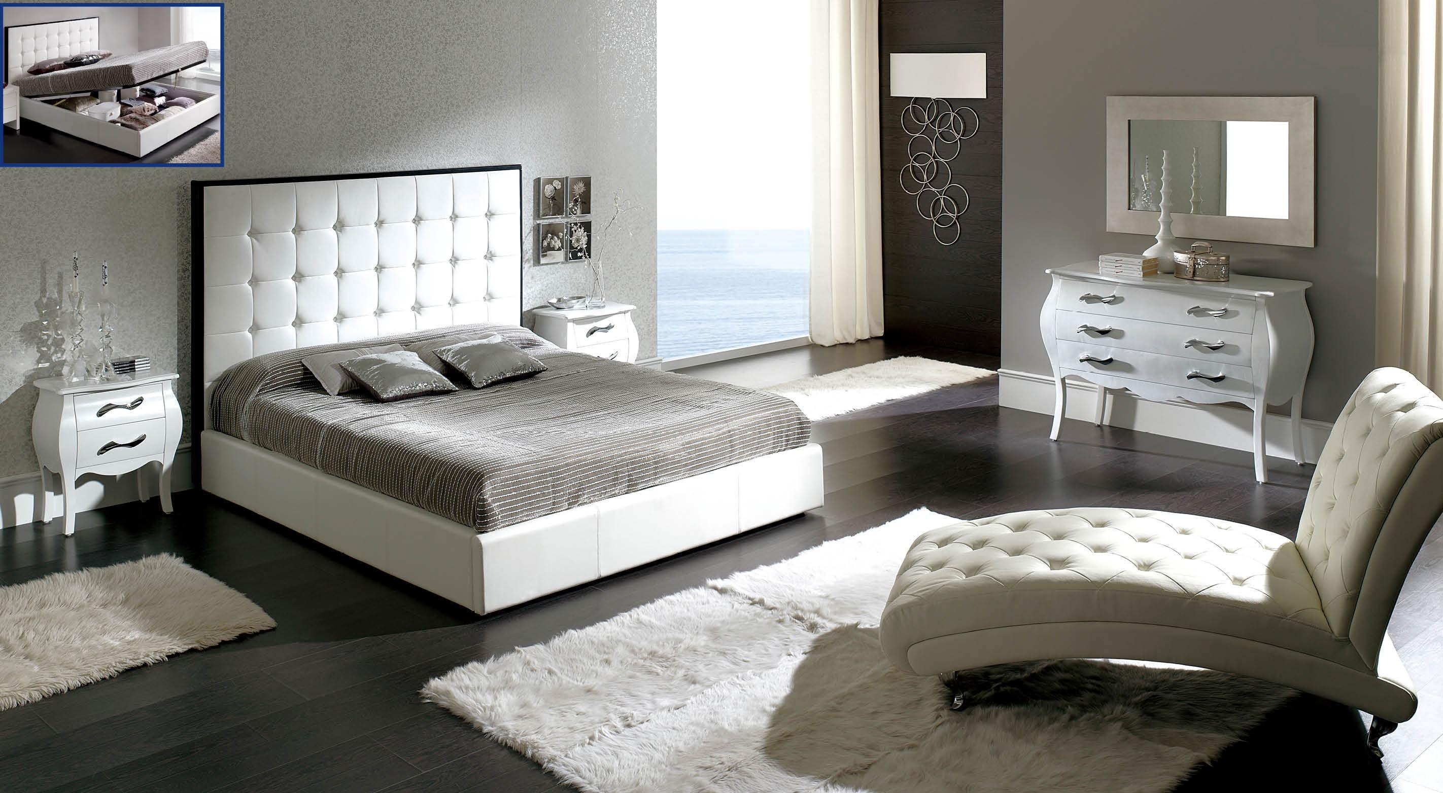 Peninsula White Modern Italian Bedroom Set N Star Modern
