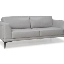Gray Modern Sofa Set Serta Convertible Meredith Moroni 578 Grey Full Italian Leather