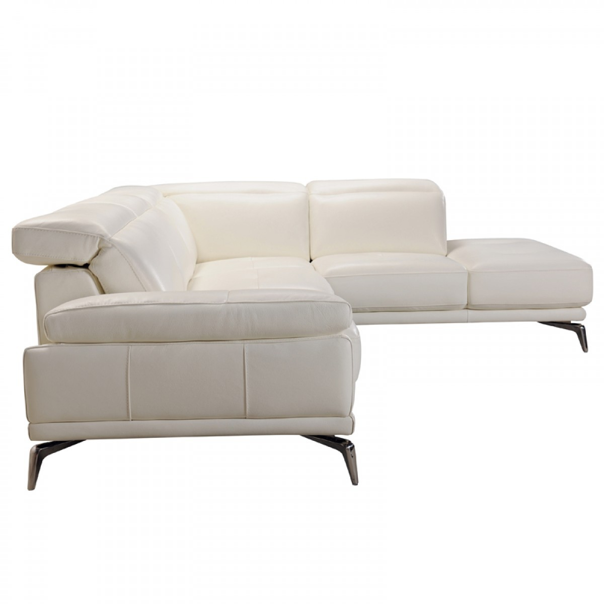 modern white italian leather sectional sofa china image divani casa tundra full