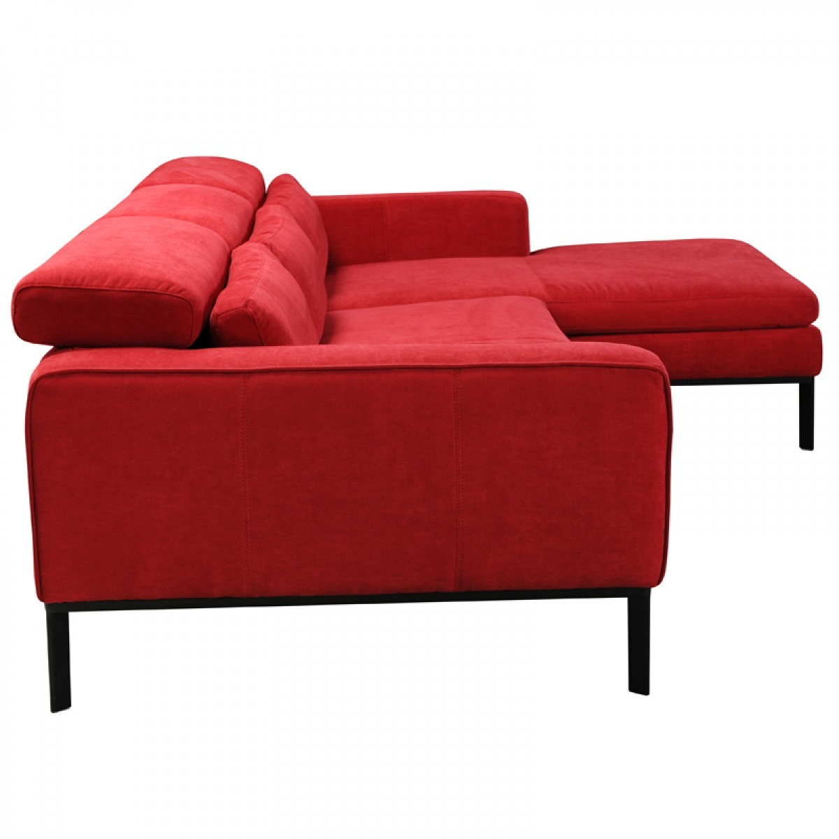 clayton sofa wholesale sofas divani casa modern red fabric sectional