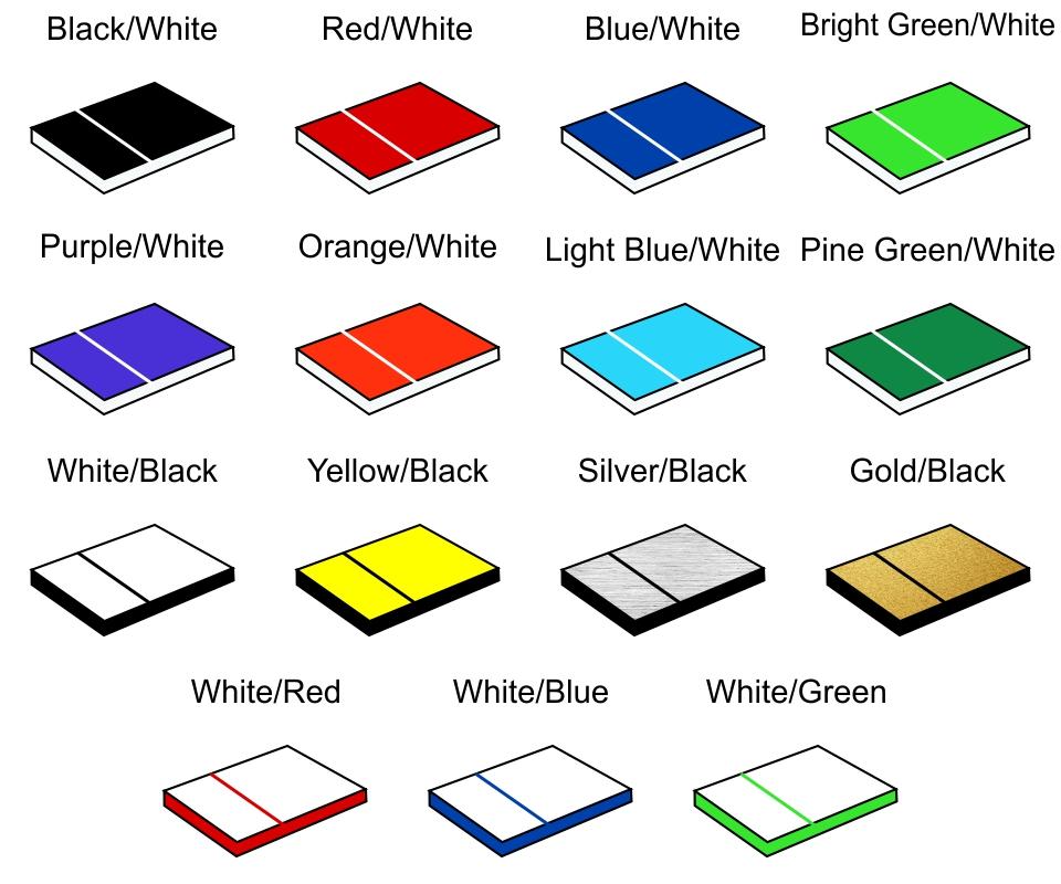 Plastic Material Colors