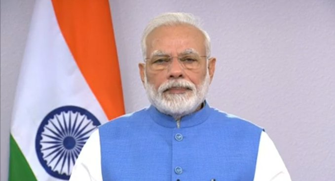 PM Narendra Modi will address the nation at 10 am tomorrow.
