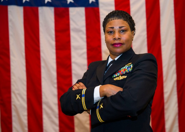 First African American Female promted to CWO-5 in th eInformation Warfare Community