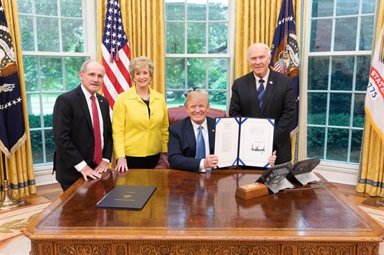 Chabot Trump small business admin bill photo