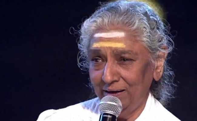 Legendary Singer S Janaki To Perform In City Tomorrow