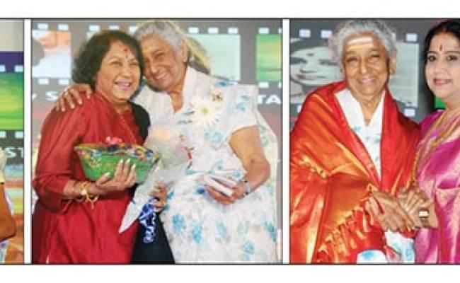 Janaki S Farewell To Singing From Mysuru Star Of Mysore