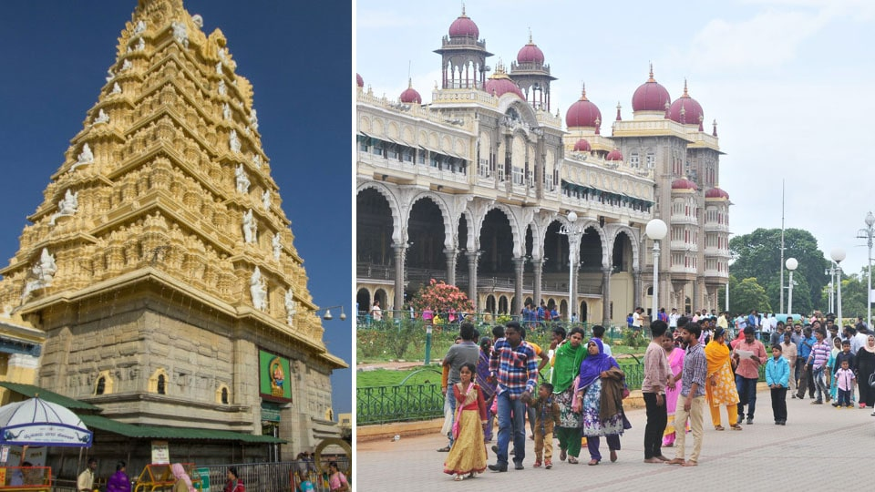 Online booking for sevas at Chamundeshwari Temple and entry to Palace evokes good response