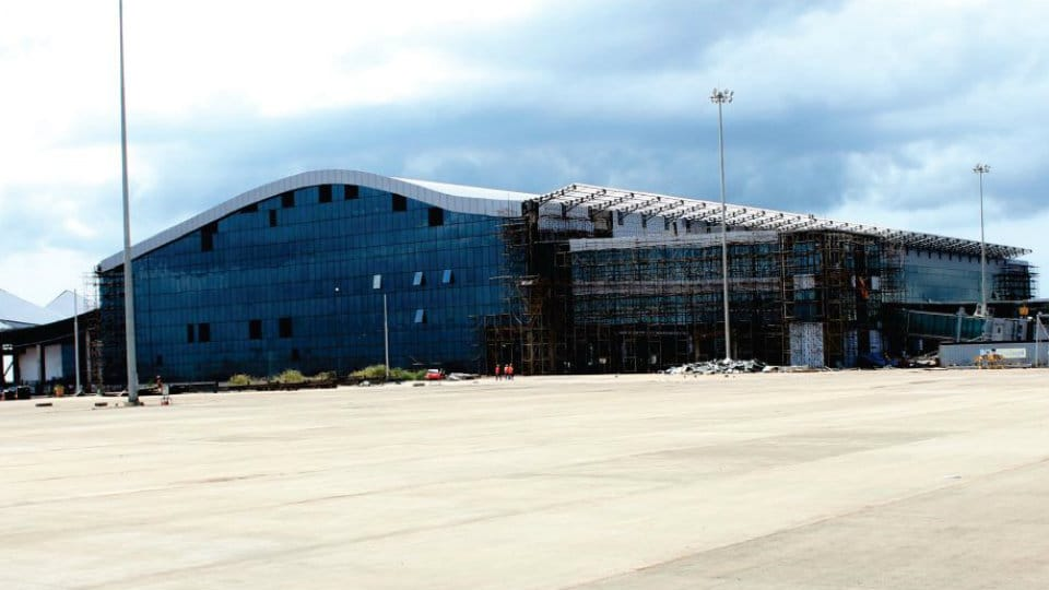 Kannur International Airport in Kerala nearing completion