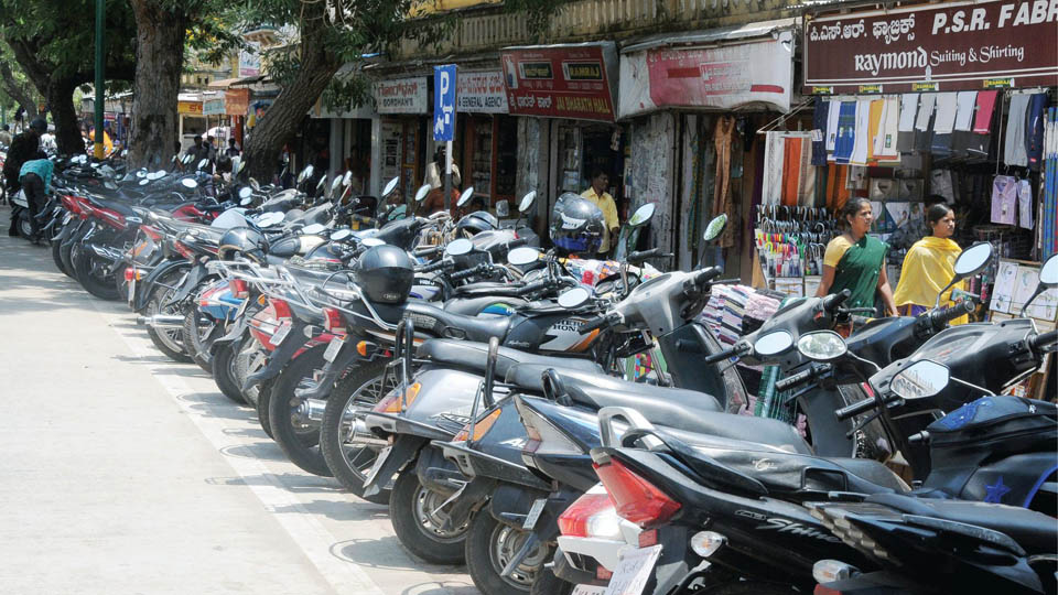 Take care of your two-wheeler keys after parking, advice Police