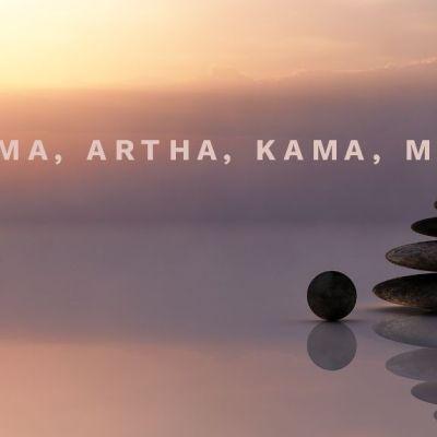 Understanding your Problems in the Context of Dharma, Artha, Kama, and Moksha