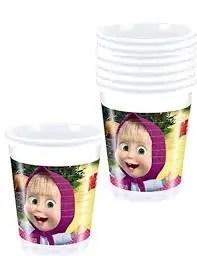 Plastikust joogitopsid (8tk)