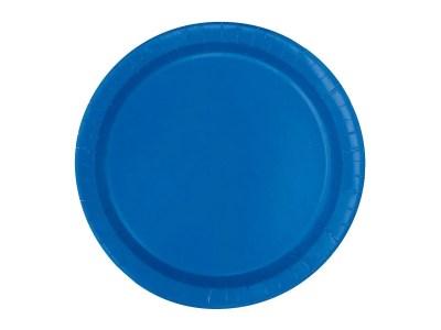 Taldrikud sinised 20tk, 17,1cm