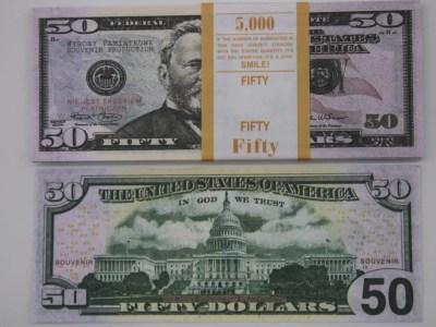 Raha 50dollarilised