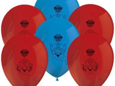 Õhupallid Paw Patrol 8tk, 30cm